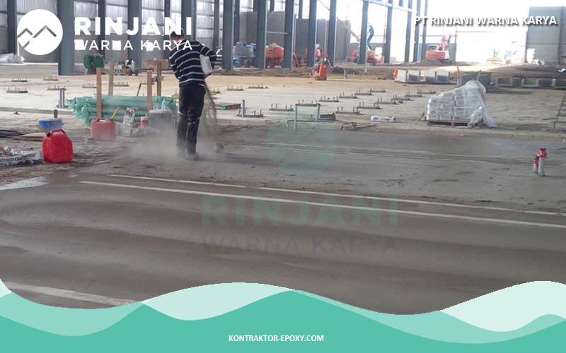 Jasa Floor Hardener & Trowel lantai