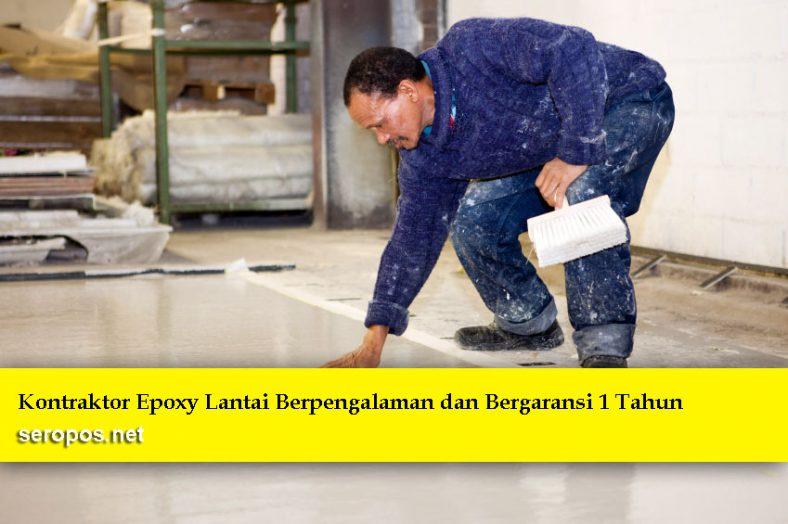 kontraktor epoxy lantai jakarta
