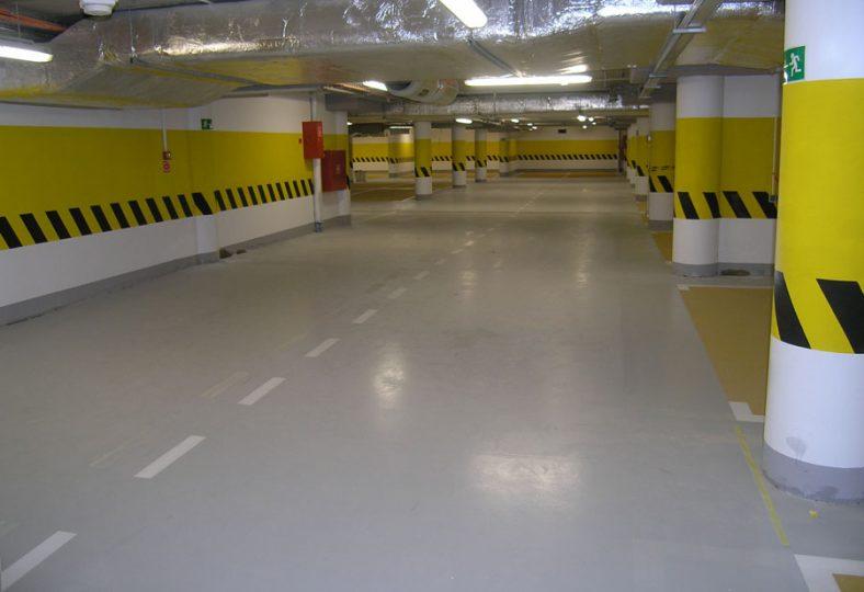 Epoxy Lantai Area Parkir