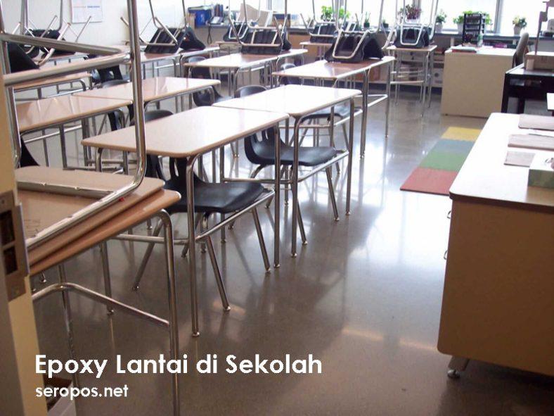 Epoxy Lantai Sekolah - Epoxy di Sekolah